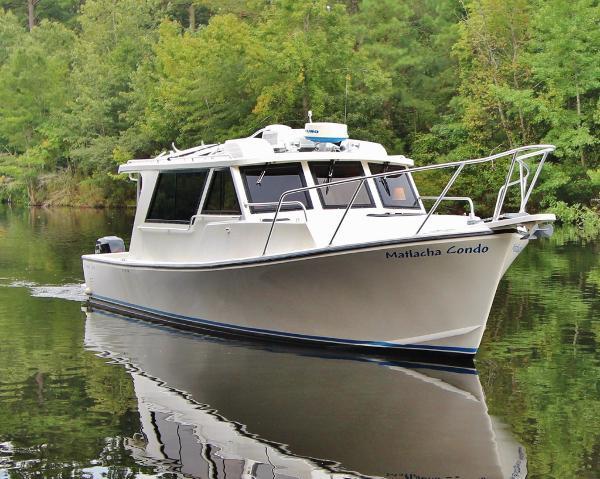 "Crusader Boats ""34"" Custom MATLACHA CONDO"