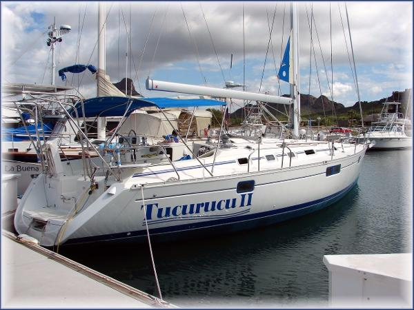 Beneteau Oceanis 440 Aft Cockpit Sloop At the dock