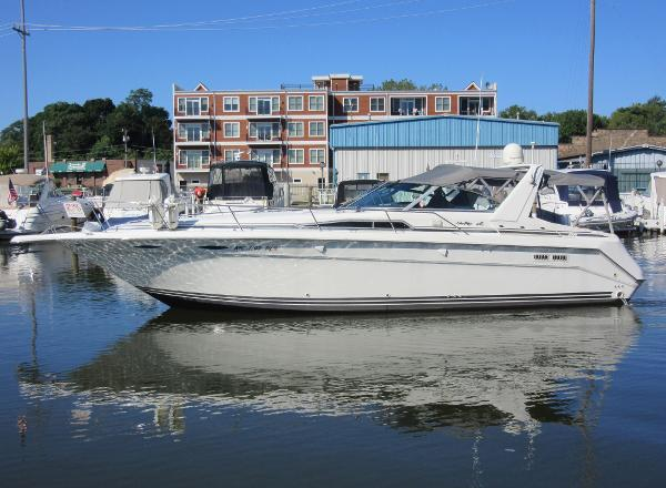 Sea Ray 370 Express Cruiser ON THE WATER