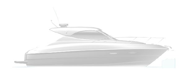 Maritimo Mustang 32 Side Profile