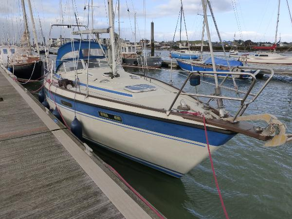 Nordship 28 Starboard bow