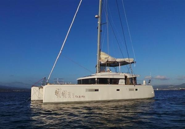 Lagoon 52 F Owner version 4 cabins Lagoon 52