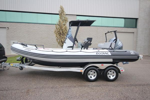 Zodiac Open 6.5 PVC Demo 150hp In Stock