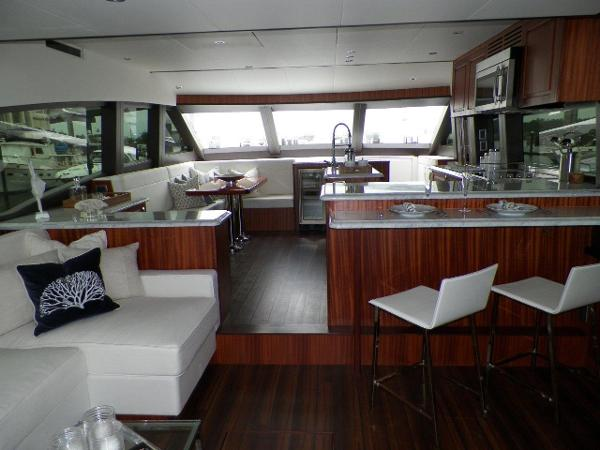 Salon/ Galley Forward View