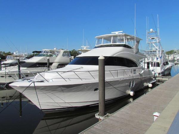 Hatteras 60 Motor Yacht Profile Port