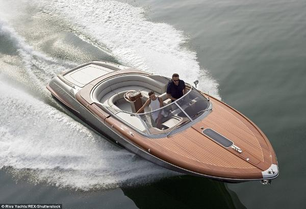 Riva Aquariva Super Manufacturer Image: Running Profile