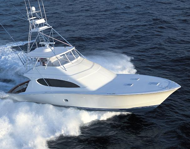 Hatteras 68 Convertible Sister Ship: