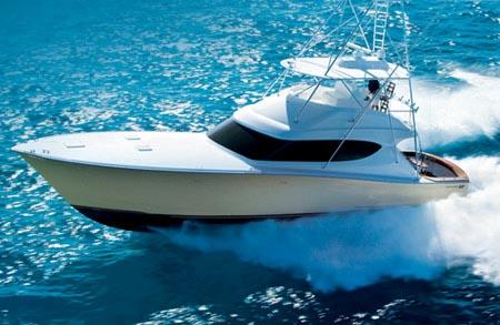 Hatteras 60 Convertible Sister Ship: