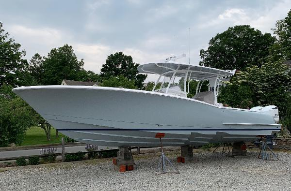 Mag Bay 33 Actual In-Stock Boat