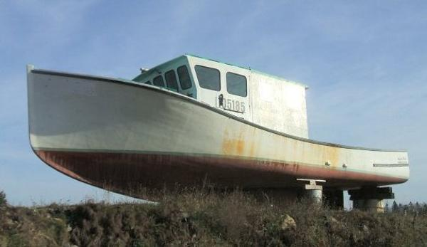 Nova Scotia Fishing Boat /Without engine