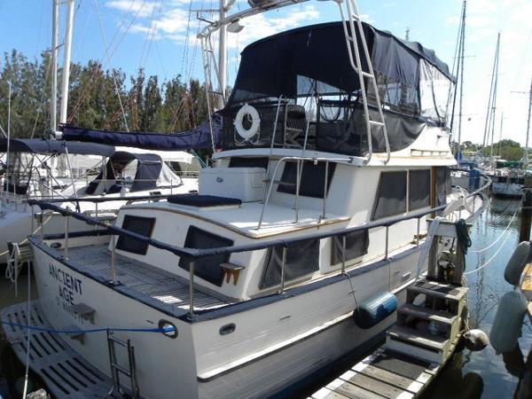 Albin Yachts 36 Double Cabin Profile