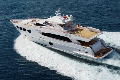 Majesty Yachts 105 105 Running (manuf)