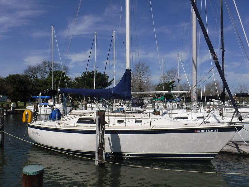 O'Day 30' Sloop HiRezProfile.JPG