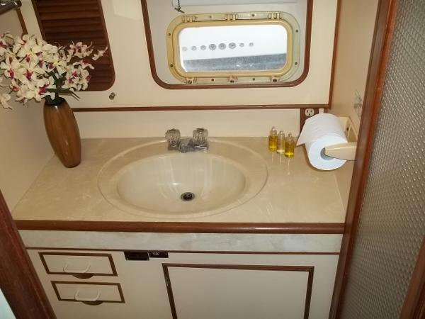 Bunkroom ensuite head w/ shower & VacuFlush toilet