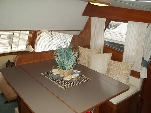 Dining table (looking aft)
