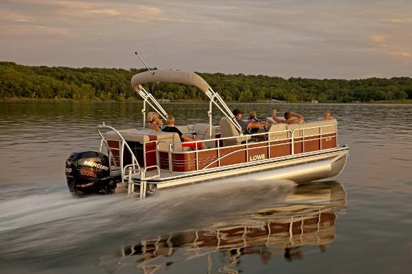 Lowe SS230 XL Super Sport 3 Log Pontoon