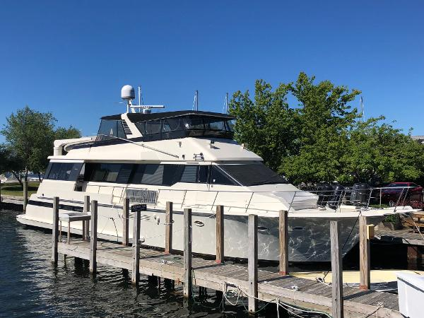 Viking 72 Motor Yacht Main Profile