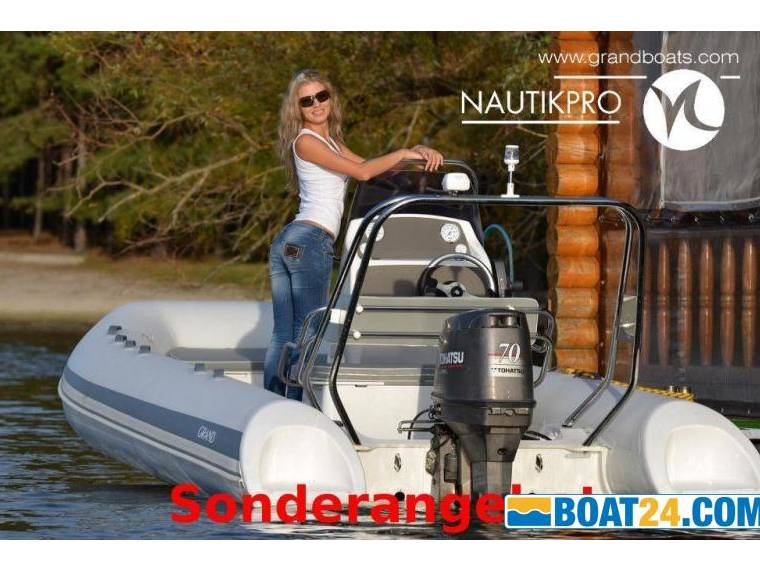 Grand Marine Group GRAND S520l Mit Yamaha F80detl
