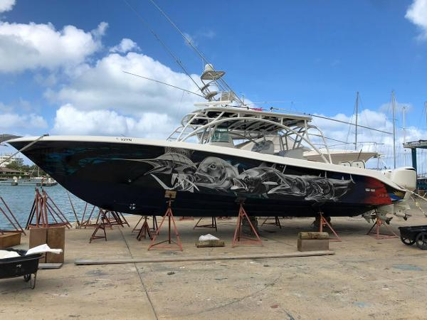 Hydra-Sports 4200 SF Port Profile - on the hard