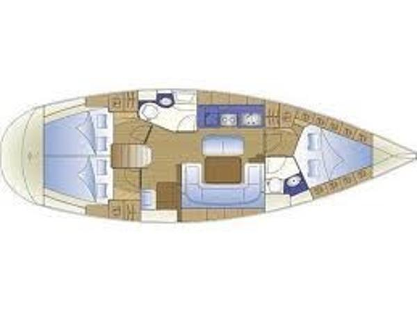 Bavaria 40 Cruiser Layout