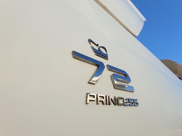 Princess 72 Motor Yacht Logo Princess 72