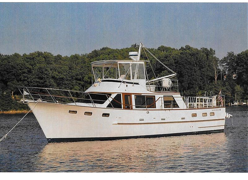 Seaton-Neville Pilothouse Motor Yacht Teak-A-Lot