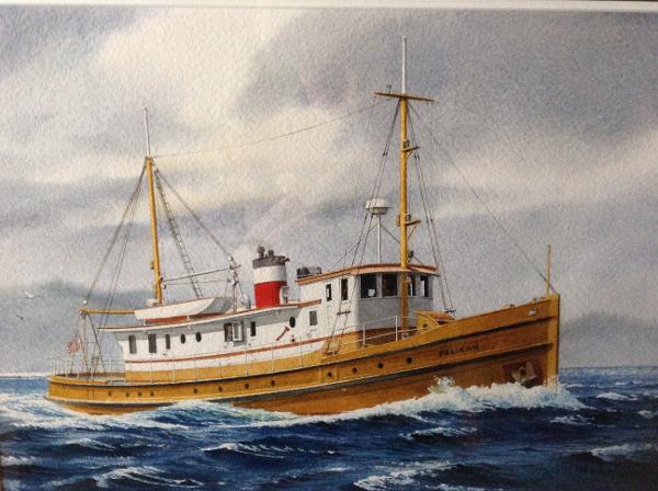 Fisheries Patrol Boat