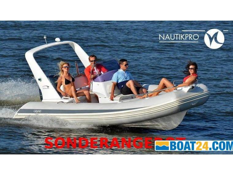 Grand Marine Group GRAND S550rf Mit Yamaha F100fetl