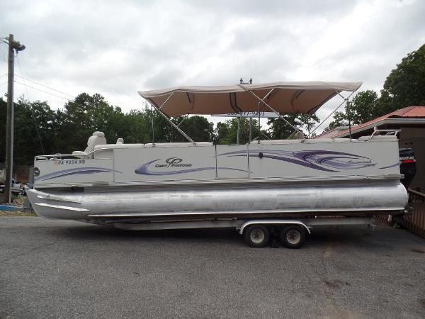 Crest Pontoon Boats Savannah LSTX 27
