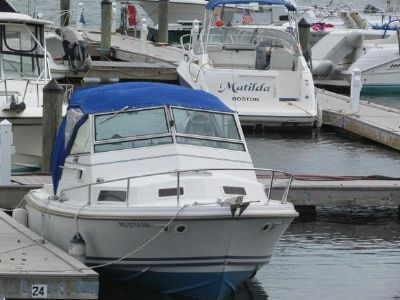 Limestone 24' Express Cruiser eager to go.