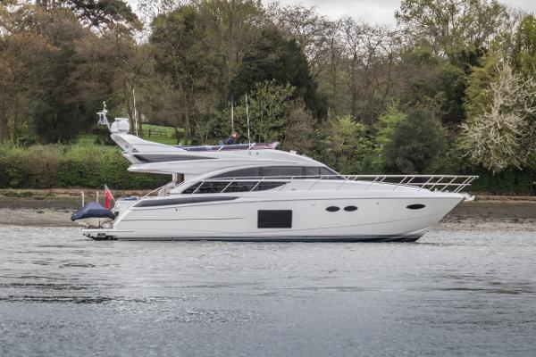 Princess 56 Starboard Side