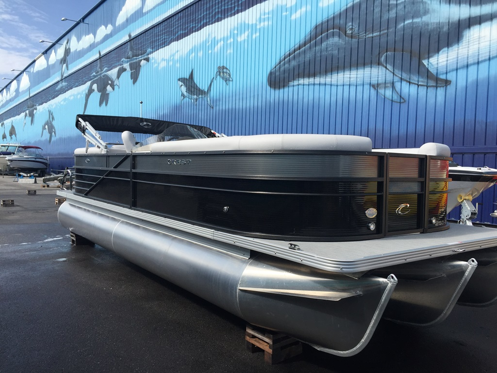 Crest Pontoon Boats 250 II
