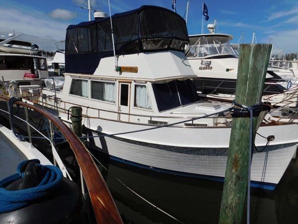 Grand Banks 42 Classic Starboard Profile