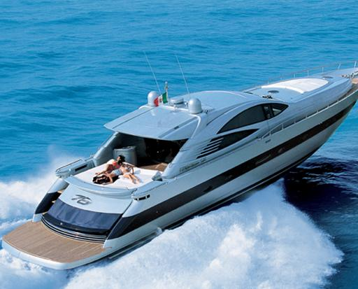 Pershing 76 Manufacturer Provided Image: Cruising