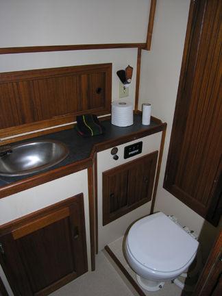 Elec. Head Vanity Sink