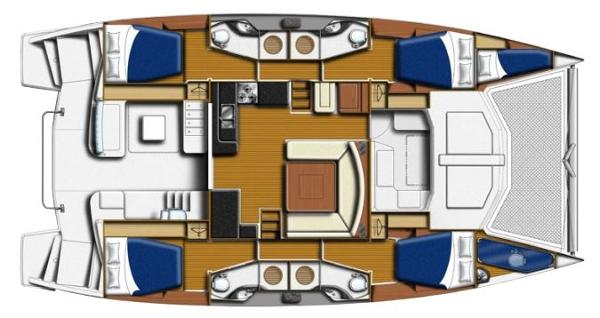 Moorings 4800 Layout Plan