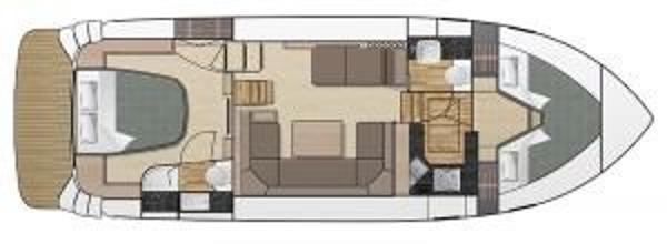 Broom 370 V Berth Layout Plan
