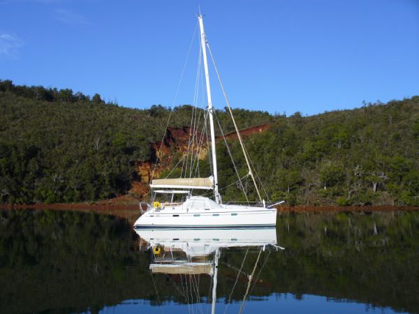 Privilege 445 Anchored
