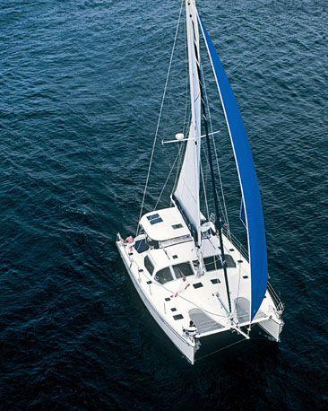 Privilege 445 Sailing