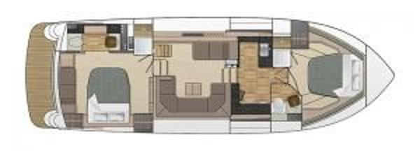 Broom 430 Optional Split Galley Layout Plan