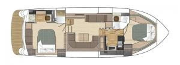 Broom 430 Standard Extended Saloon Layout Plan