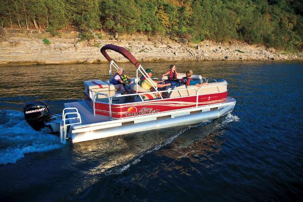 Sun Tracker Party Barge 20 DLX Manufacturer Provided Image