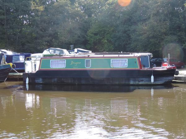 Springer Engineering Narrowboat