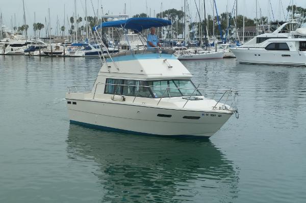 Fiberform Flybridge Cruiser Starboard Profile