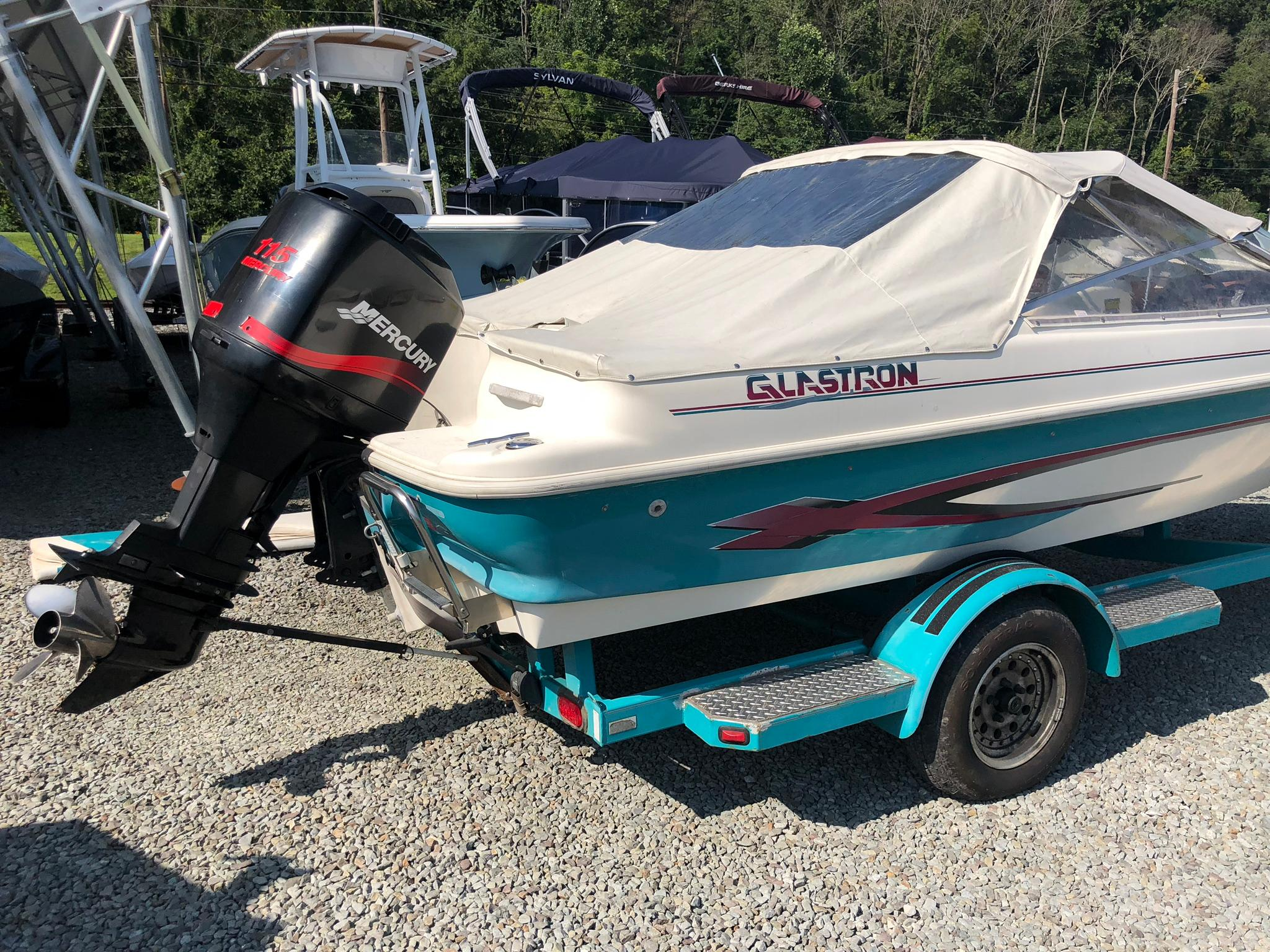 glastron freshwater fishing boats for sale