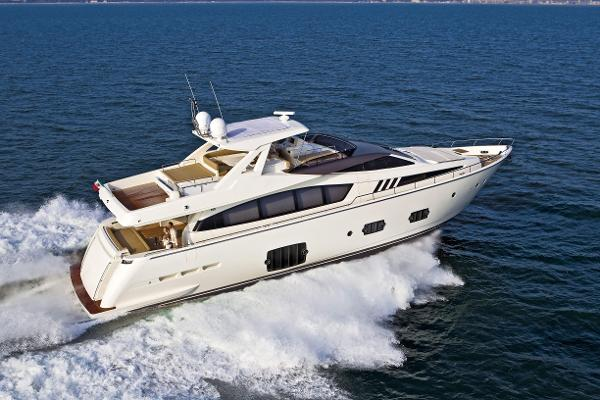 Ferretti Yachts 800 Manufacturer Provided Image: Ferretti 830 Running Shot