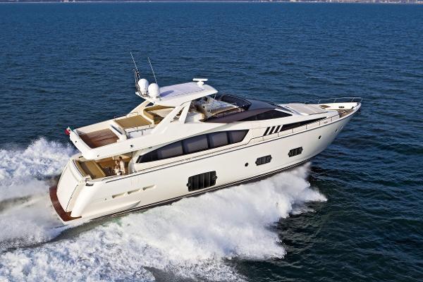 Ferretti Yachts 800 Manufacturer Provided Image: Ferretti 830 Running Shot