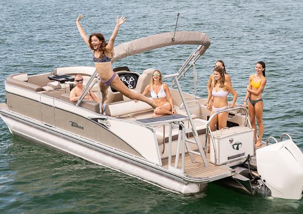 Tahoe Pontoon CASCADE 25 VRL - SPP Tri-toon