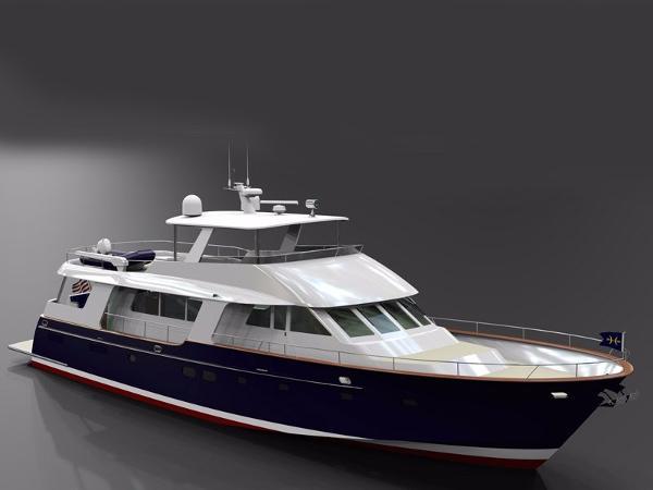Heritage Yachts Palm Beach 82 Flushdeck Profile
