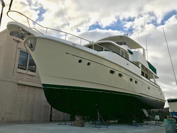 Selene 60 New Painted Hull 9/22/17